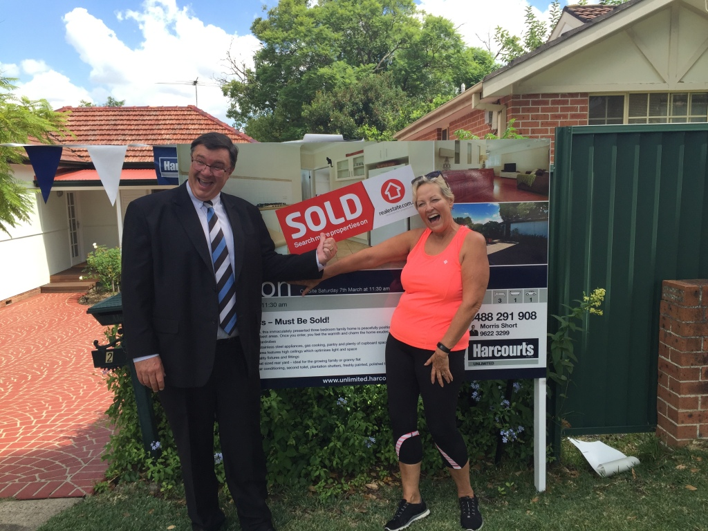 Another happy Harcourts vendor! Live in Pendle Hill? Interested in selling? Give me a call!